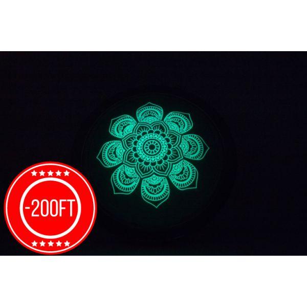 Virágos Falilámpa + Foszforeszkáló matrica