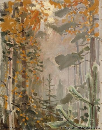 AKSELI GALLEN-KALLELA  Autumn Landscape (1911)