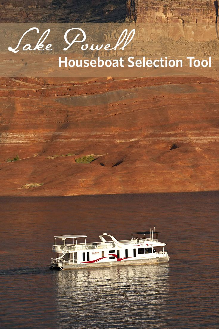 The perfect tool to help you pick the best houseboat for your family #vacation or #reunion.