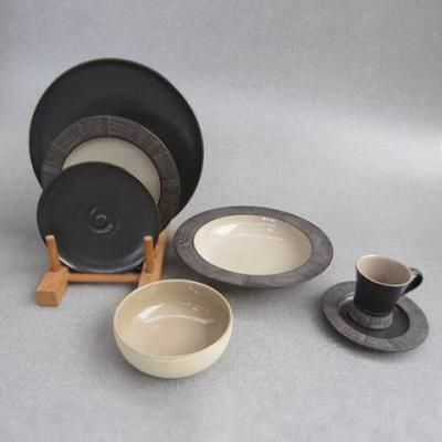 Eclectic Collection Flower Vases & Ethnic Collection Six Pieces Dinnerware Set - Preview 2 shop online http://www.thefinecrafts.com/