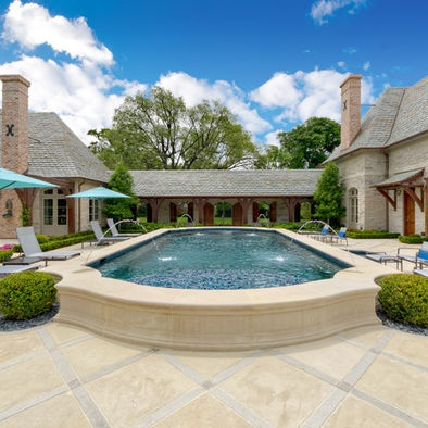 Pool Design. Doubles As A Fountain