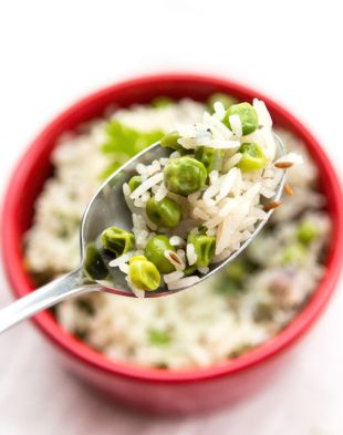 Aromatic Green Peas Pulao