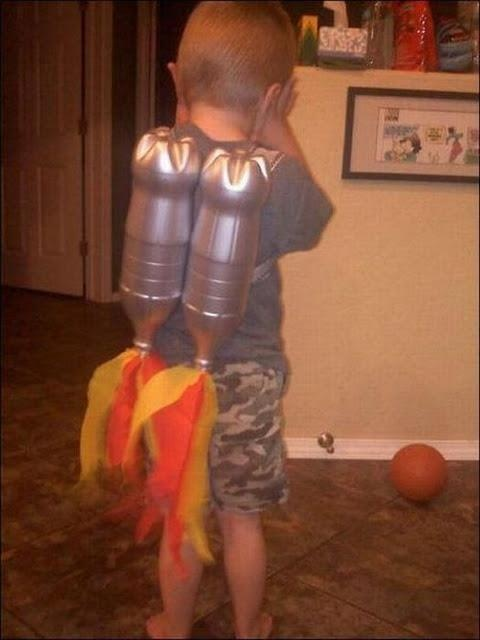 Oh my gosh! My son needs one of these jet packs!