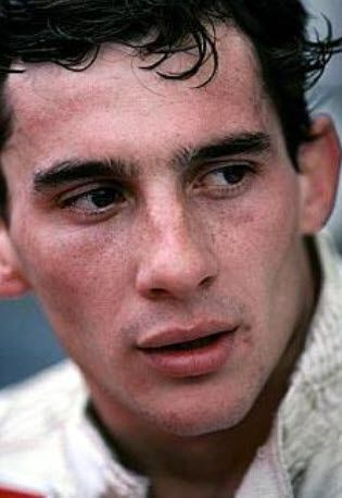 Ayrton Senna - 1983 - TEST WILLIAMS FW 08