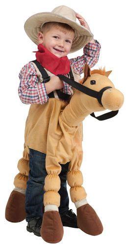 Toddler Child Fuzzy Ride A Pony Horse Costume Halloween One Sz   eBay