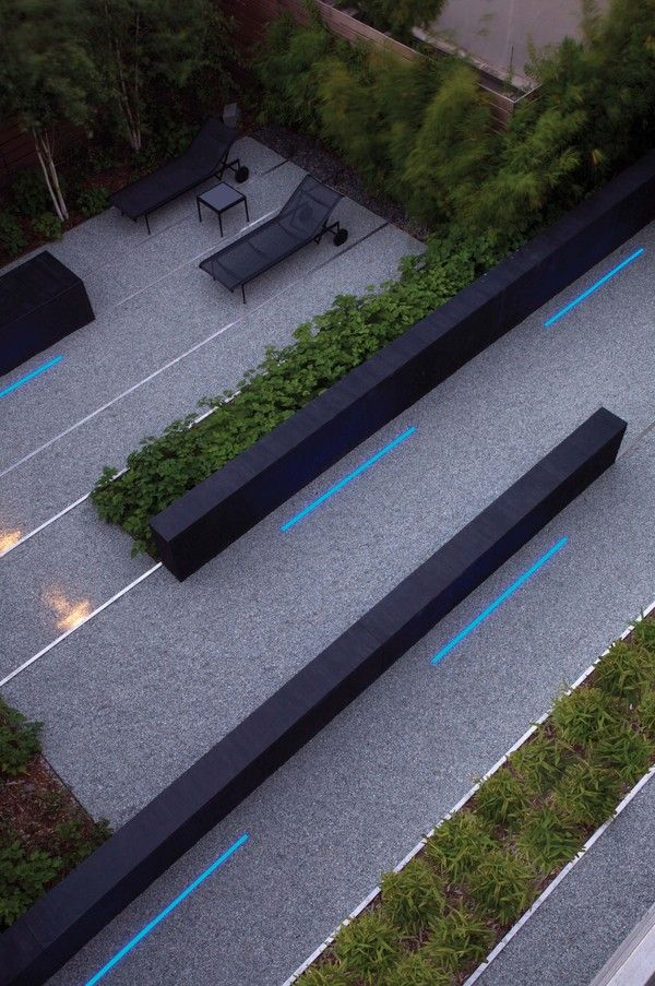 Perry Residence by Andrea Cochran Landscape Architecture , via Behance