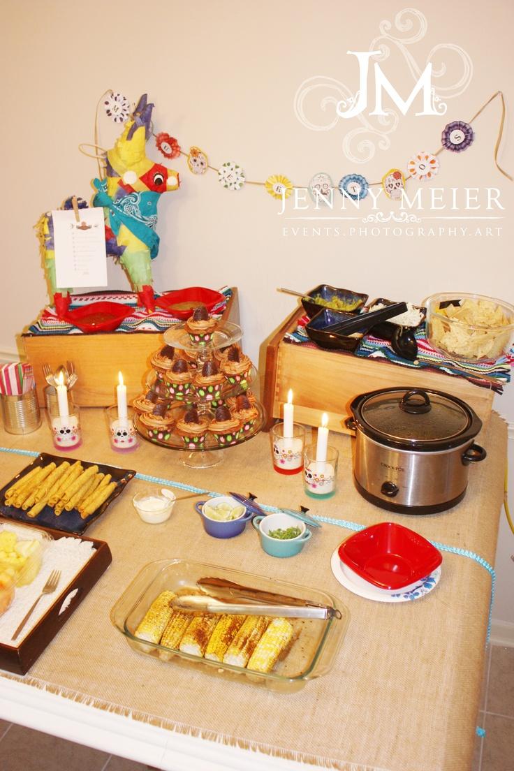 Dia de los Muertos Party   Tortilla Soup Bar