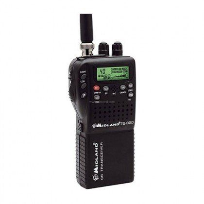 75-822 Ultra Compact CB Radio With Mobile Adapter