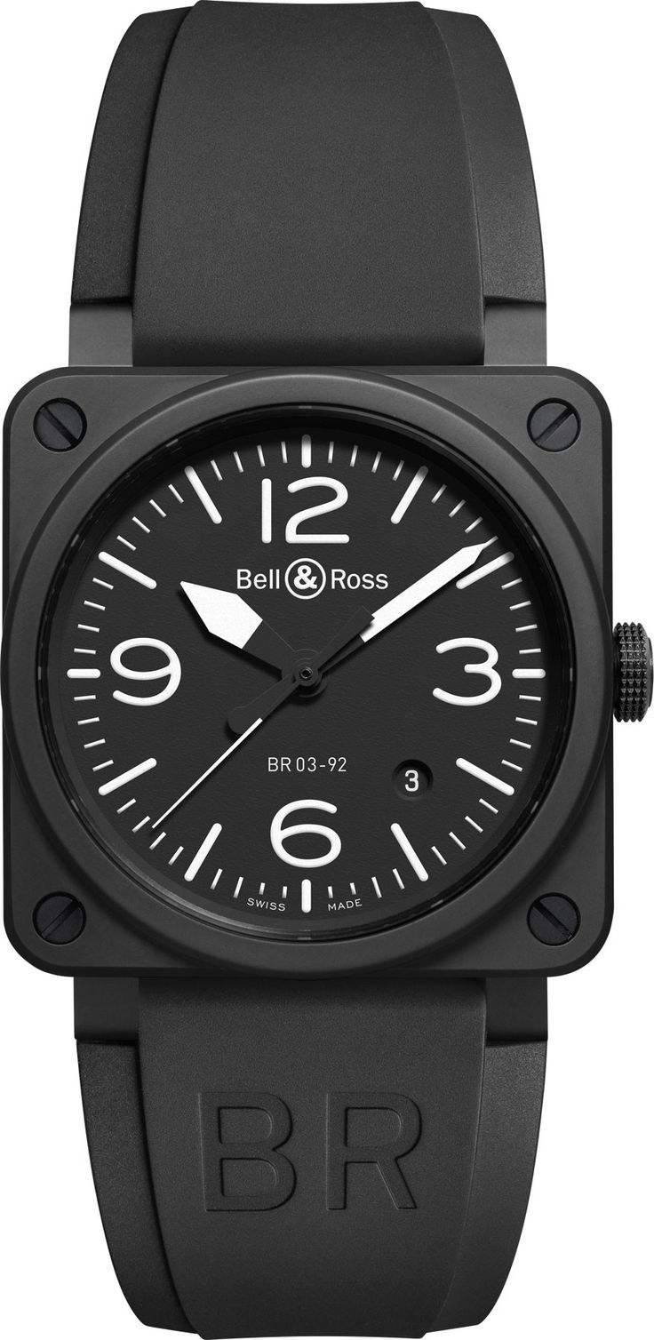 Bell & Ross Watch BR 03 92 Black Matte