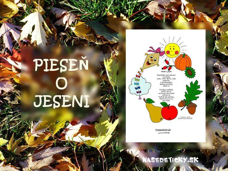 Naučte sa s deťmi jednoduchú a peknú pieseň o jeseni.