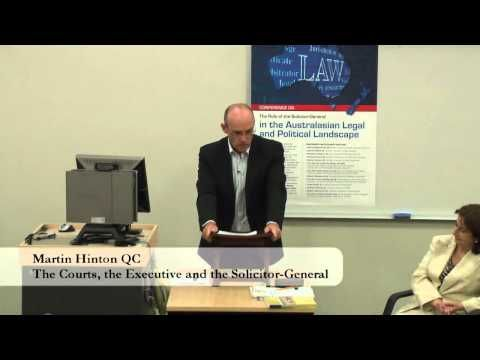 The Role Of The Solicitor General (Session 3) - 15 April 2011 - YouTube