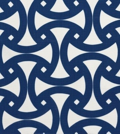 blue and beautifully bold..outdoor fabric...for a boy's room