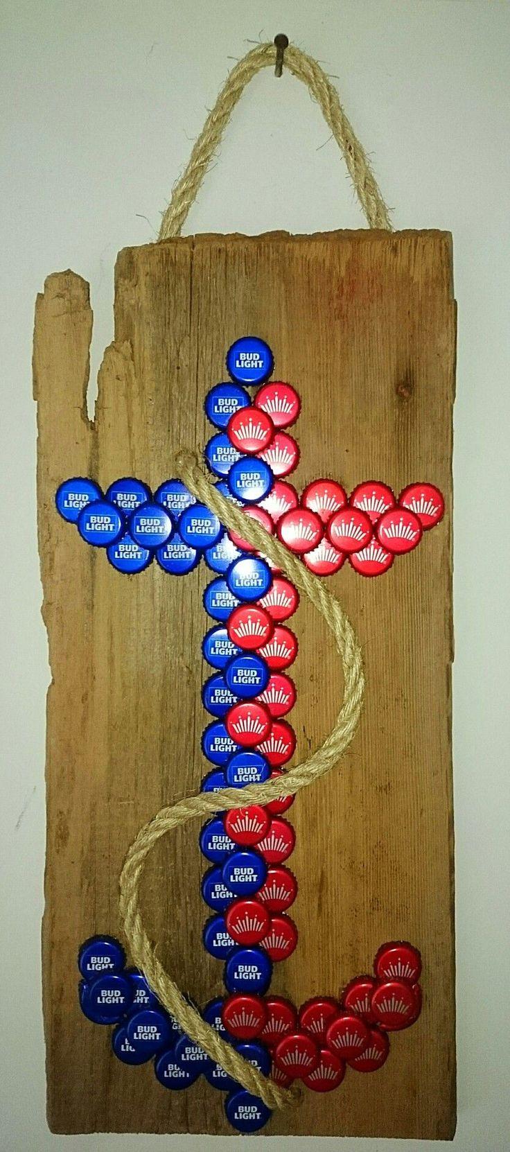 Best 25 bottle cap art ideas on pinterest bottle caps for Beer can craft ideas