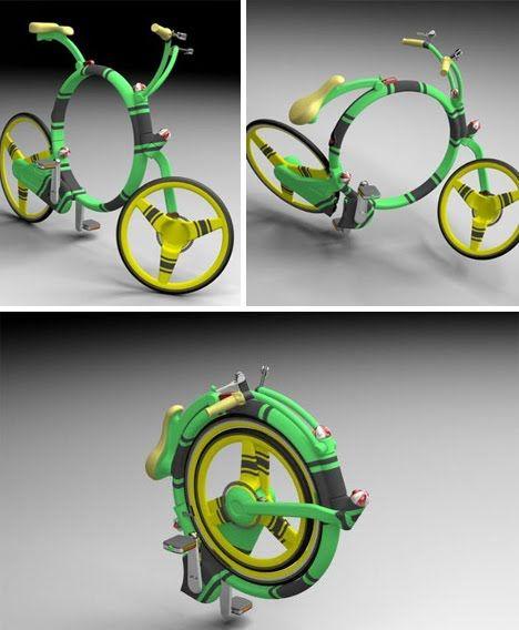 folding bike..