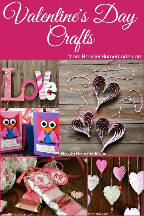 Valentineu0027s Day Crafts