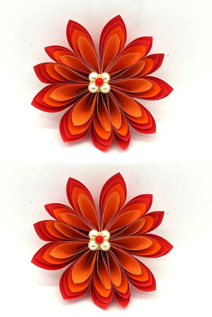 Hello Viewer Now I Sharing Paperflower Wallhanging Craft Ideas
