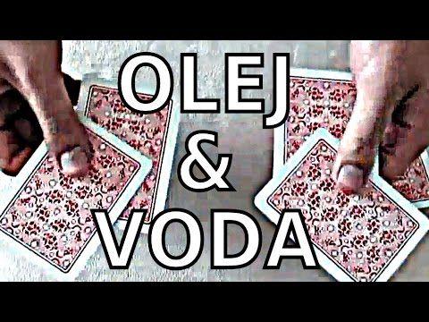Olej & voda - vynikající karetní trik s vysvětlením - YouTube