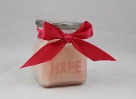 Craft-e-Corner Blog * Celebrate Your Creativity: Breast Cancer Awareness DIY Hand Scrub and Glass Etching Tutorial