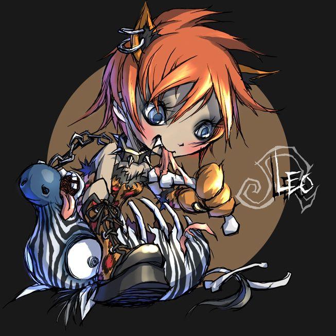 Leo. Zodiac. Cute? (With images) | Leo zodiac, Anime, Zodiac