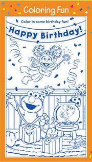 Sesame Street - Elmo Birthday Fun