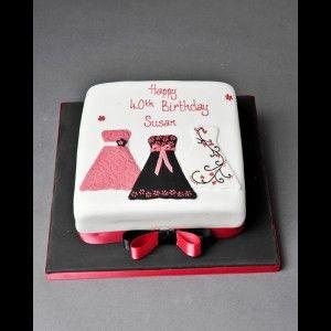 Fondant Cake Design Rosemount Aberdeen : 10+ ideas about Birthday Cakes Women on Pinterest ...