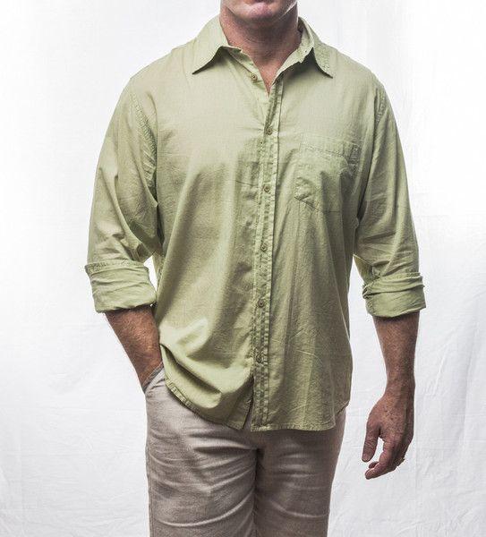 Designer long sleeve cotton shirt $69