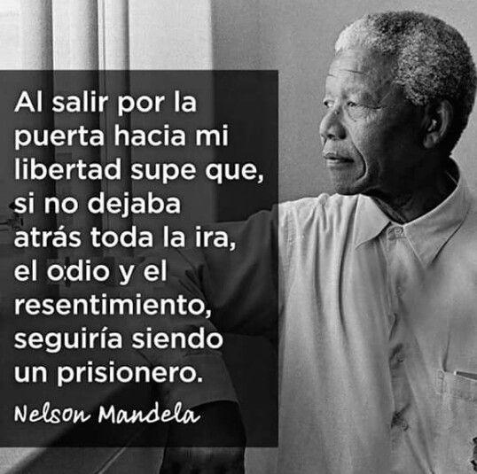 Mandela y el resentimiento