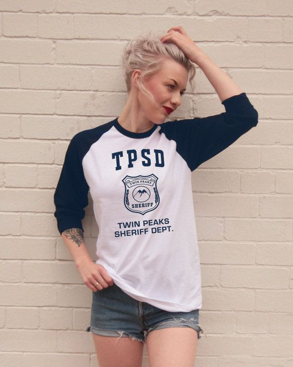 Twin Peaks Sheriff Department Screen printed by FiftyEggs on Etsy