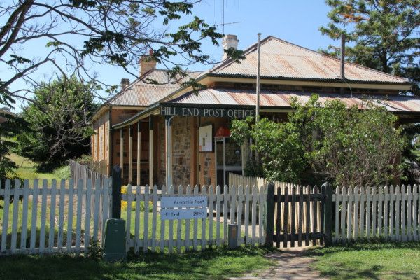 Hill End Village, The Post Office, one of the few remaining buildings. Travel from #Sydney #Australia http://ow.ly/VYex