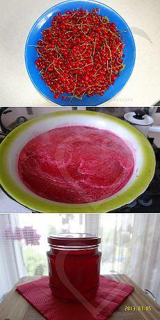 Желе из красной смородины. Рецепт приготовления с пошаговыми фото