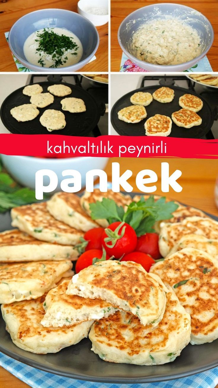 Pancakes with breakfast cheese   again in full recipe and again ...