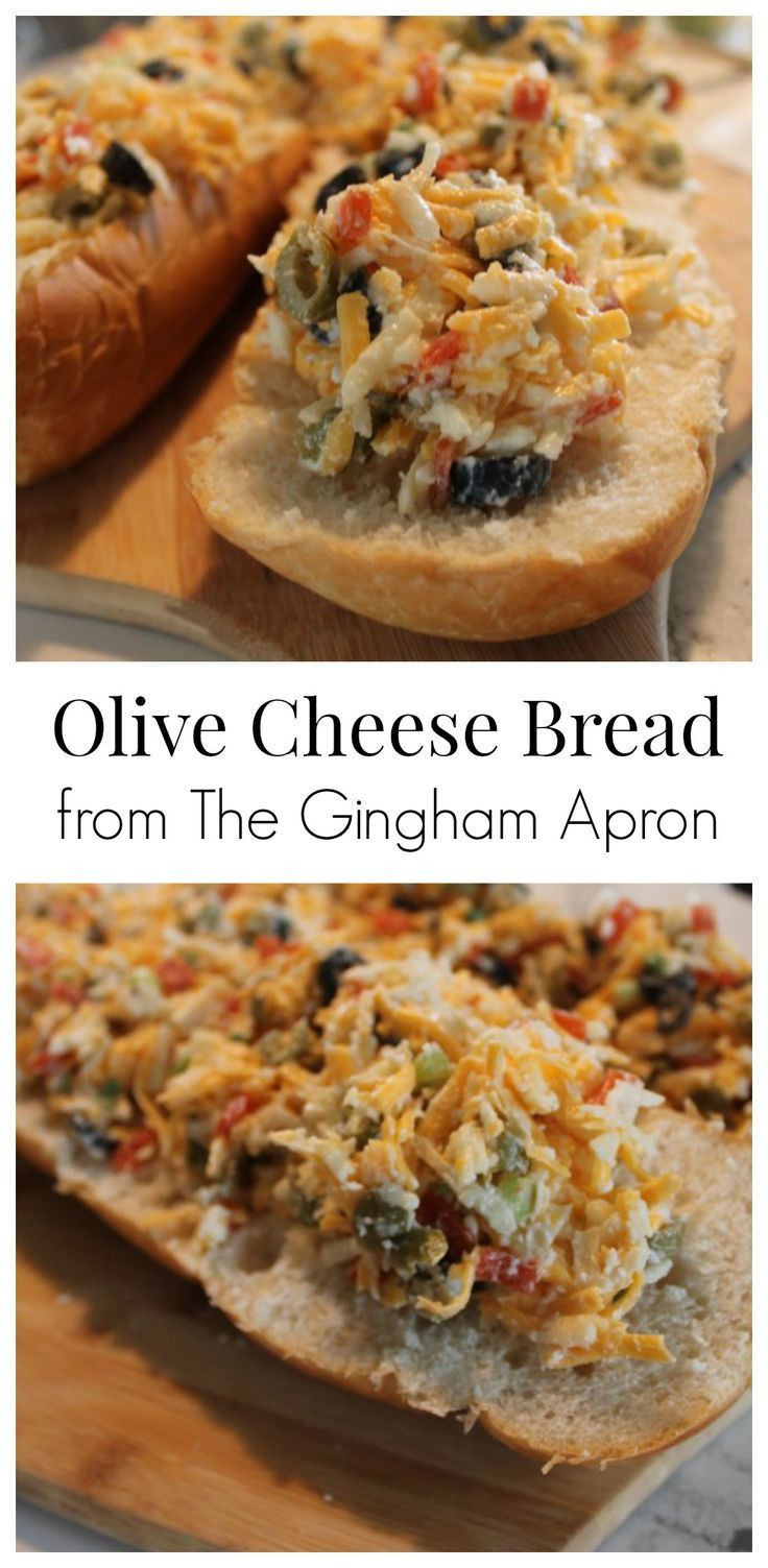 Olive Cheese Bread- a Pioneer Woman recipe that is so wonderfully delicious! A perfect appetizer for your next gathering.