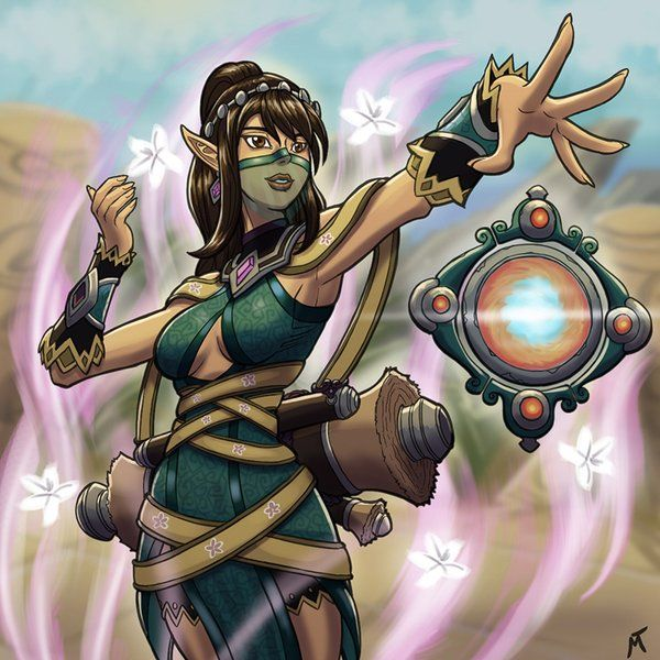 17 Best Images About Paladins Girls On Pinterest