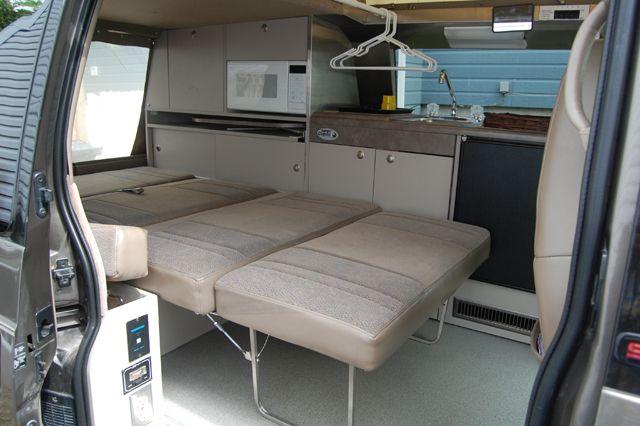 astro conversion minivan camping van camping astro van minivan camping