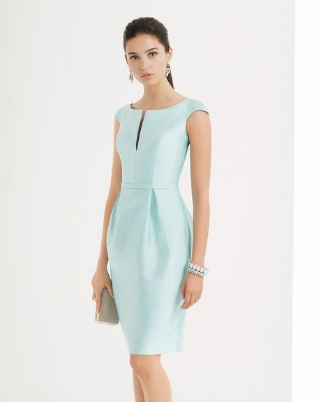 219e5c4d5a Vestidos sencillos y elegantes cortos para señoras