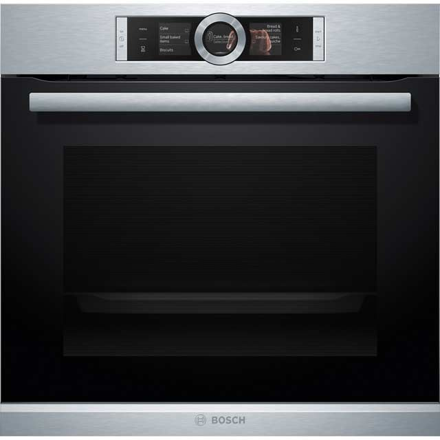 Bosch Serie 8 HBG6764S1B Built In Electric Single Oven - Brushed Steel Product Image