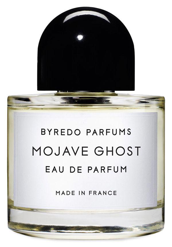 Mojave Ghost Eau de Parfum by BYREDO--Mojave Ghost   Ambrette, sapodilla, violet, sandalwood, magnolia, ambergris, and cedar.