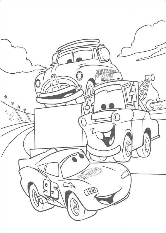 Cars Malvorlagen 65 | Projekt att testa | Pinterest