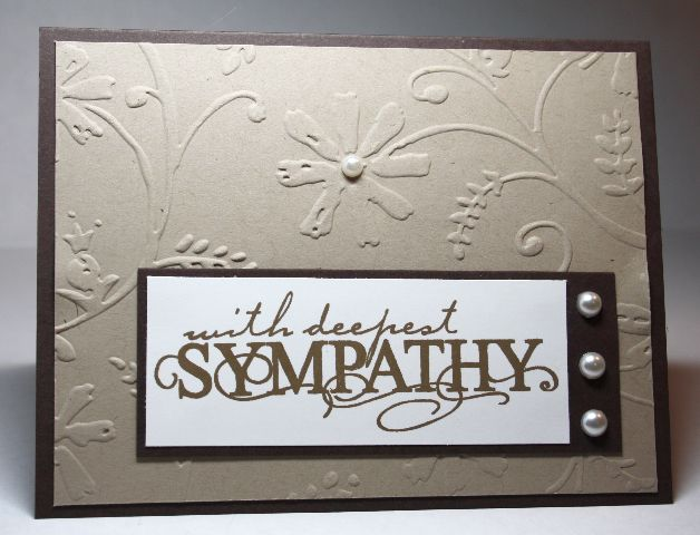 With Deepest Sympathy by mum2twinboys13 - Cards and Paper Crafts at Splitcoaststampers