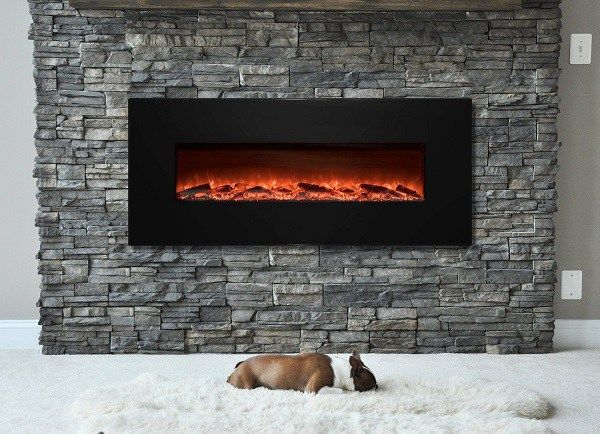 wall mounted electric fireplace heater with remote best mount decorating ideas surround