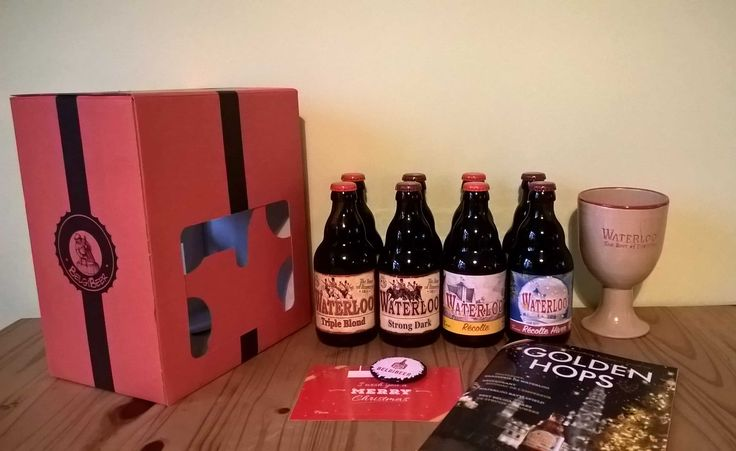 BelgiBeer December 2017 box features the beers of Brasserie de Waterloo. Check out my review of this craft beer subscription!   Belgibeer Subscription Box Review - December 2017 →  https://hellosubscription.com/2018/01/belgibeer-subscription-box-review-december-2017/ #Belgibeer  #subscriptionbox