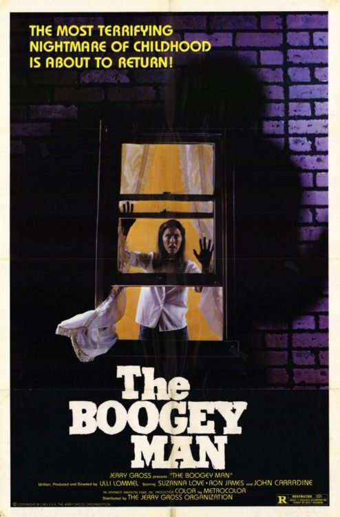 "Movie poster for the 1980 film ""The Boogeyman"". Click the pic to watch the trailer. It's a bit slowwww!"