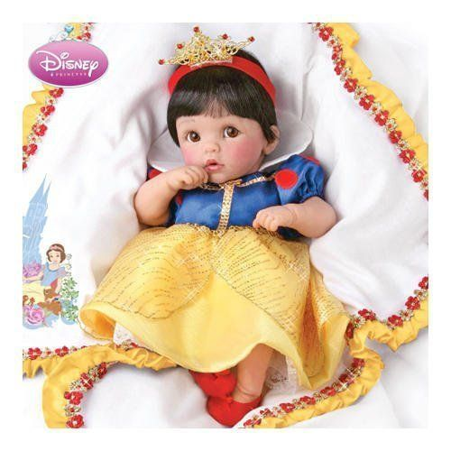 Someday Dreams: Disney Princess Snow White Lifelike Musical Baby Doll by Ashton Drake by Ashton Drake, http://www.amazon.com/dp/B0027ZF50Q/ref=cm_sw_r_pi_dp_qjJesb1YQDCW9