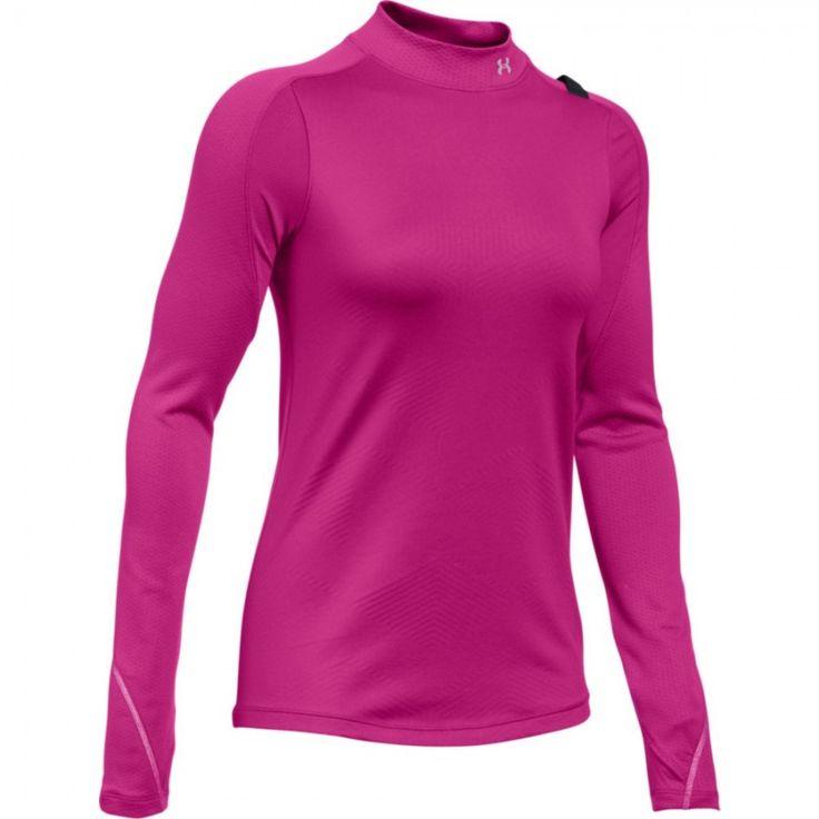 Dámské tričko Under Armour ColdGear Element růžové