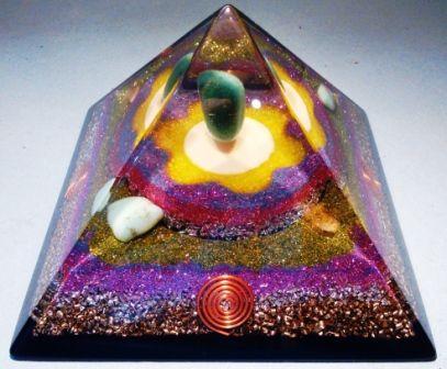 Orgonit, orgonity, orgonitová pyramída