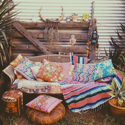 Boho Interior Design:: Beach Boho Chic :: Dream Home + Cool Living Space :: Ethnic : Bohemian Style Decoration:: Diseño de Interiores:: ZAIMARA Inspirations:: #zaimaraglobal