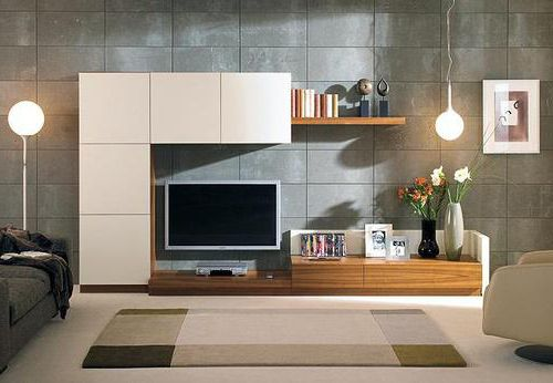 1000 ideas about floating tv unit on pinterest living for B q living room units
