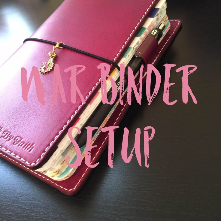 Hi guys, I decided to do a quick setup of my War Binder. I apologize if it's…