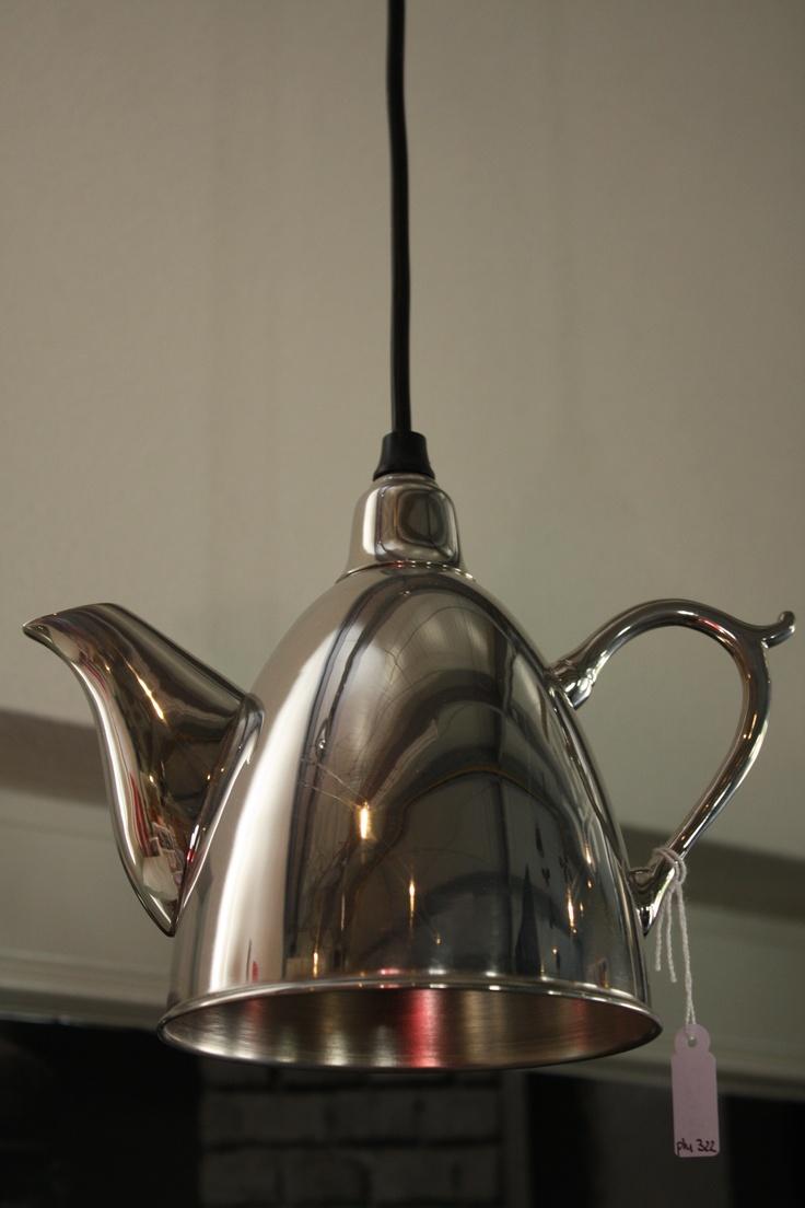 Theepot lamp....