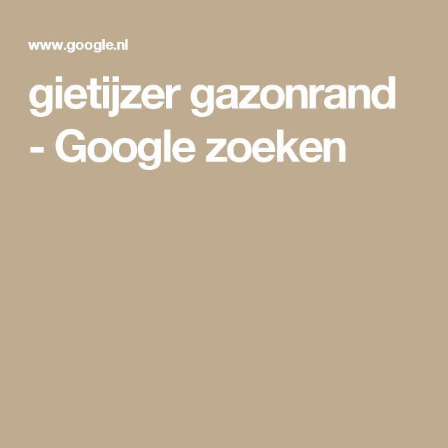 gietijzer gazonrand - Google zoeken